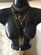 jewels,jewelry,boho jewelry,boho,boho chic,bohemian,festival,music festival,coachella,necklace,choker necklace,statement necklace,layered