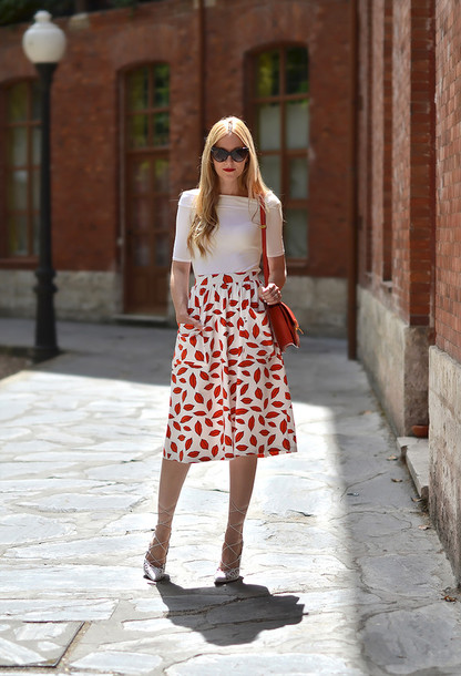 oh my vogue top skirt bag shoes