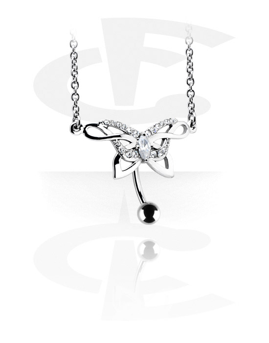 Belly chain including piercing banana [surgical steel 316l]