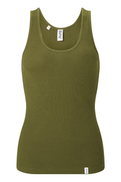 tank top,les girls les boys,khaki,ribbed jersey,racerback,soft stretchy material