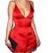 Cute straps deep v dress high quality