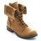 New womens mid calf lace up rear zipper combat boots galaxy 01 | ebay