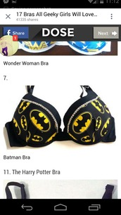 top,bra,batman,superheroes,underwear,batman bra