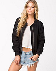 100% Jacket - Fwss - Black - Jackets And Coats - Clothing - Women - Nelly.com Uk