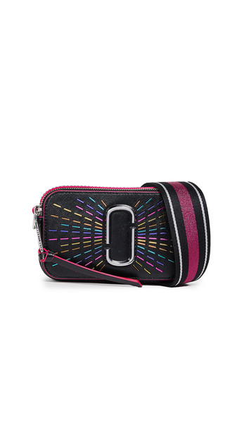 Marc Jacobs Snapshot Confetti Camera Bag in black / multi