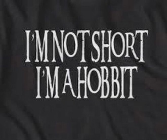 shirt black hobbit lord of the rings lord of the rings hobbit