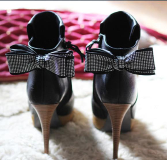 shoes high heels loop brilliant