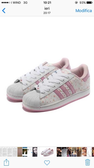 shoes pink adidas adidas superstars 2 butterfly girl adidas superstars pink shoes baby pink charlie barker