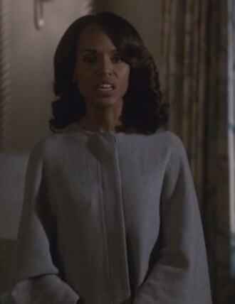 coat grey caped olivia pope scandal kerry washington