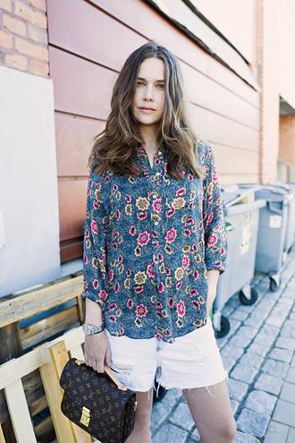 carolines mode blogger blouse paisley isabel marant