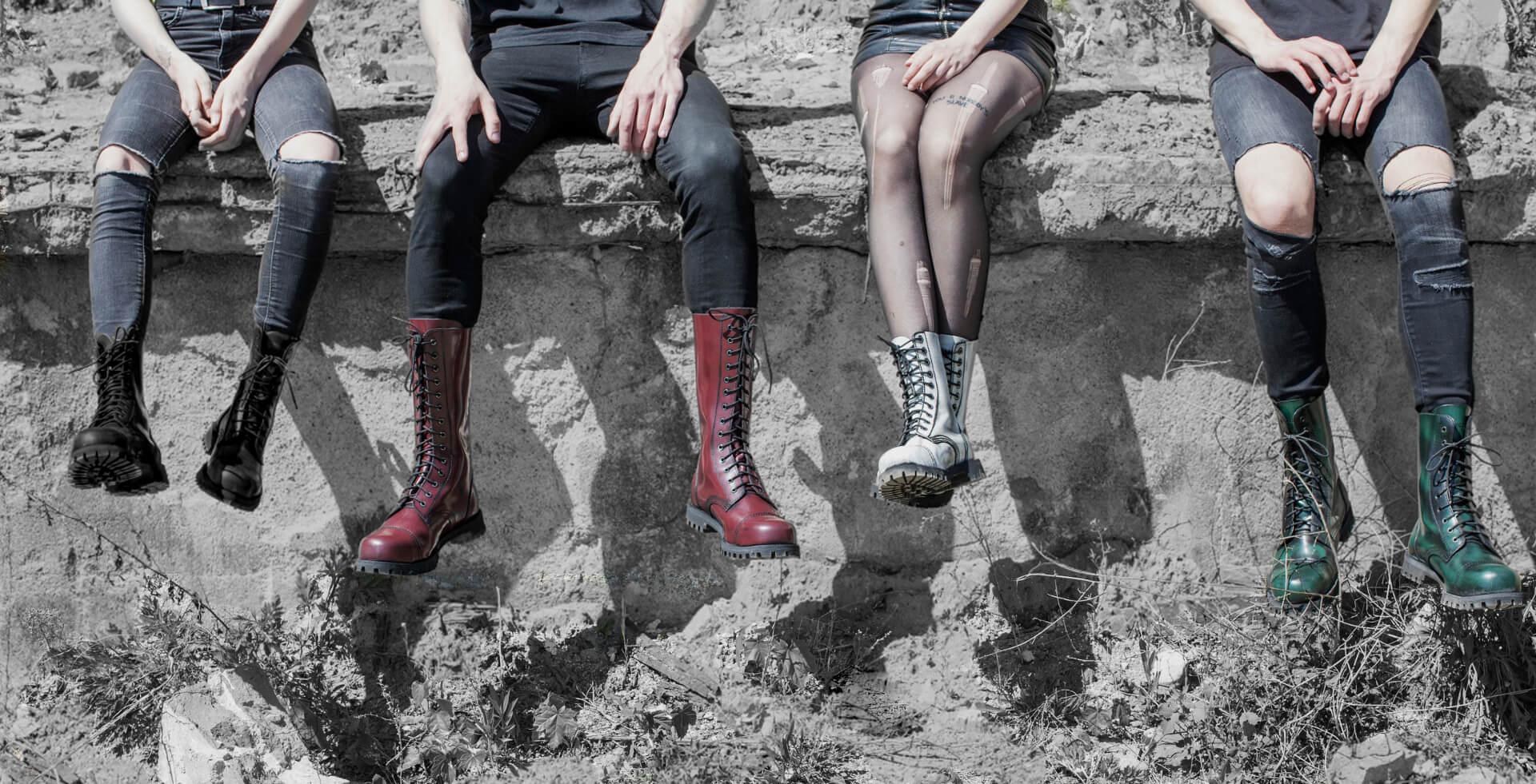 New combat boots - Heavy- duty combat boots - Altercore - Classic combat boots and sneakers - ALTERCORE