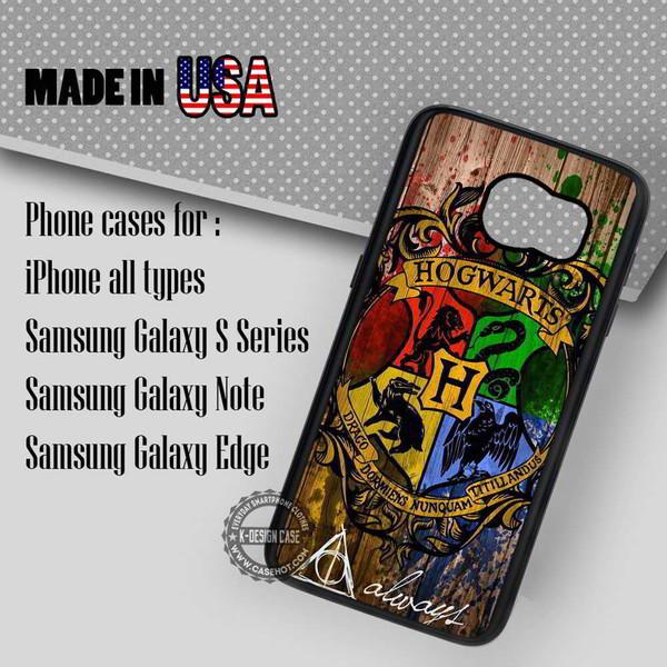 phone cover hogwarts wizard wood
