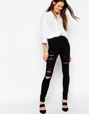 Ripped Jeans | Destroyed & Busted Knee Jeans | ASOS