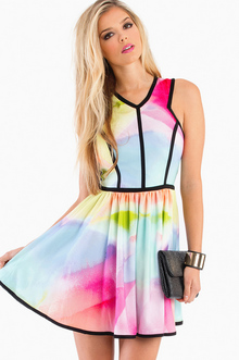Keepsake Flash Back Dress - TOBI