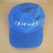 hat,friends,blue,aesthetic,pale,soft,grunge,soft grunge,tv,health goth,friends TV show
