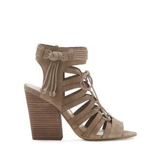 heel strappy smoke shoes