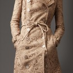 Burberry Long Corded Lace Trench Coat 37894201 - iLUXdb.com