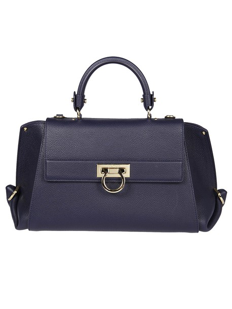 Salvatore Ferragamo blue bag