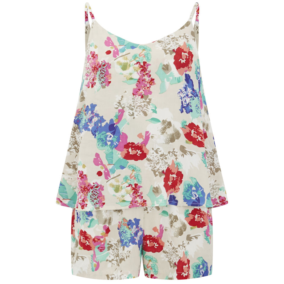 Vero Moda Women's Flower Joe Playsuit - Multi 					Womens Clothing | TheHut.com