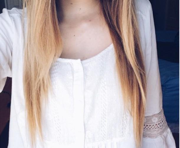 blouse shirt white shirt
