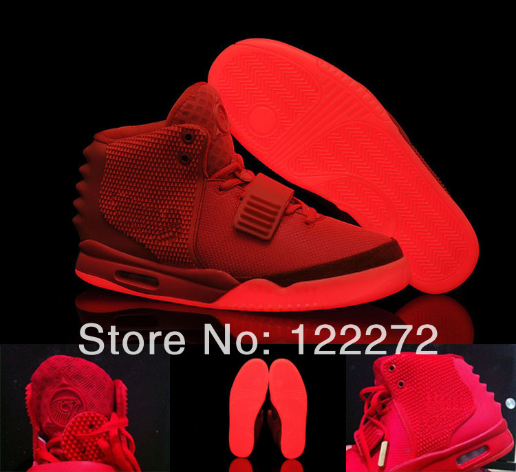 Aliexpress.com : buy air yeezy 2 red october kanye west 2014 nk new lmited edition shoes men's and women basketball shoes with top quality for sale from reliable shoes walkers suppliers on online store 122272