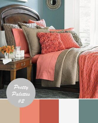 home accessory throw pillow textured coral khaki bedding comforter blanket