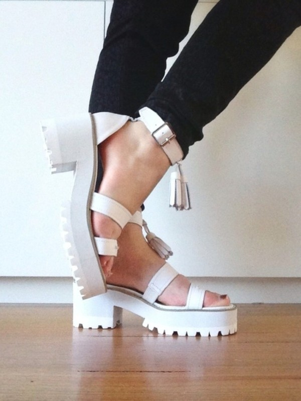 shoes windsor smith eu sandals white white sandals amazing