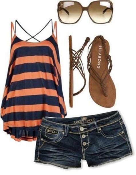 blouse style t-shirt shorts shoes shirt chevron striped dress style fashion fashion preppy tank top