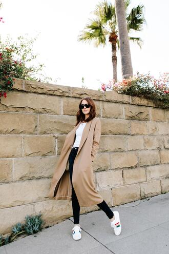 could i have that blogger coat pajamas shoes jeans skinny jeans sneakers trench coat spring outfits
