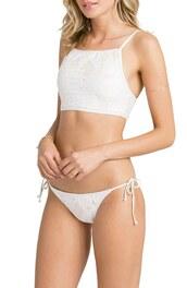 swimwear,side tie bikini bottom,white bikini,side ties bikini,side tie bottom