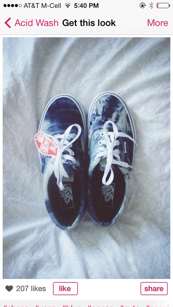 shoes vans tie dye blue ocean ombre cute sportswear blogger fashion blogger tumblr tumblr girl instagram summer boho bohemian grunge back to school