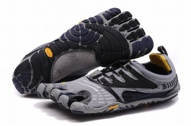 5 fingers komodosport ls grey/black/navy barefoot shoes for male