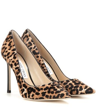 hair 100 pumps brown shoes