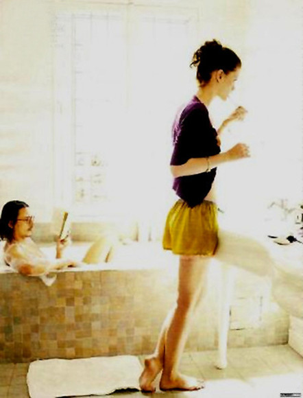 johnny depp skirt shorts purple cardigan yellow shorts