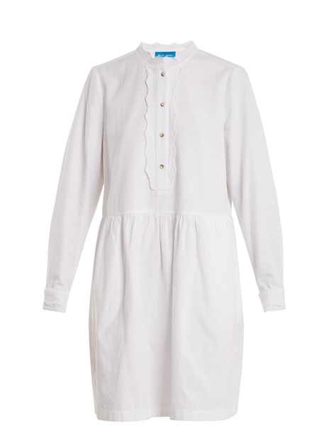 dress cotton white