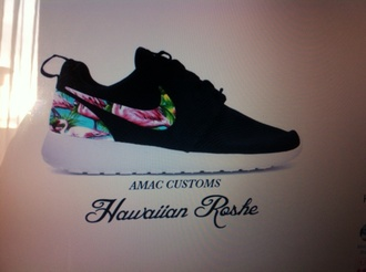 shoes hawai nike roshe run run black nike