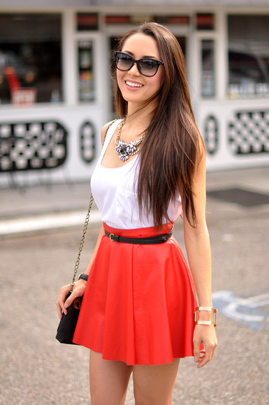 hapa time shoes bag jewels skirt tank top