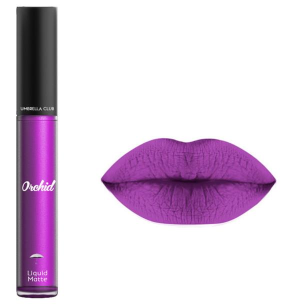 Make Up Liquid Lipstick Liquid Matte Lipstick Purple Lipstick