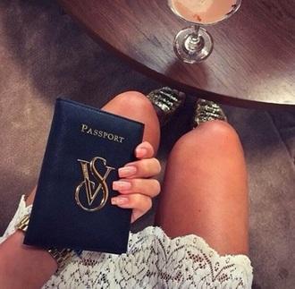 wallet vs victoria's secret blue wallet passport cover