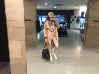coat jacket beige tumblr cute hot brown long long coat long jacket zara old navy cardigan oversized women girl clothes fancy adidas celine pink white hat baseball cap phone iphone