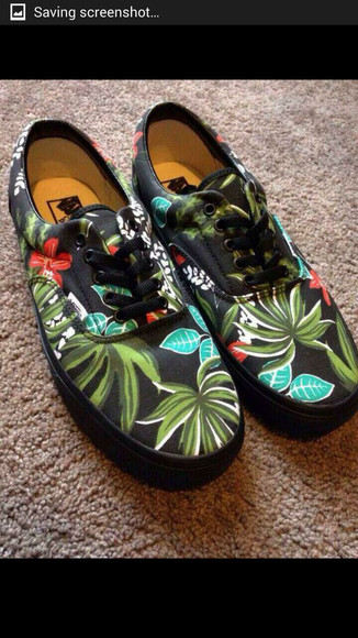 shoes vans tropical