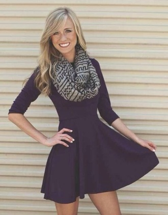 dress black dress fall outfits long sleeve dress