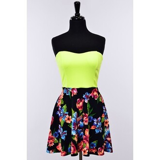 skirt skater skirt colorful hipster black green americanapparel jersey beige nude helgonets tjejigt girl make-up br