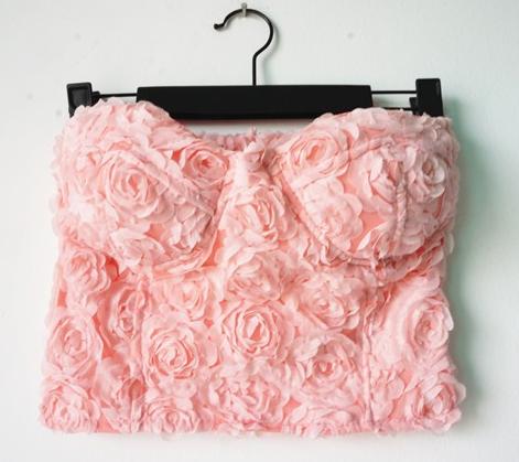 Rose Crop Top
