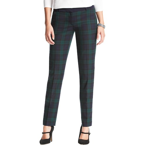 Marisa Plaid Ankle Pants | Loft