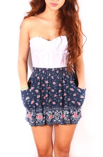 skirt highwaistedskirt floral skirt