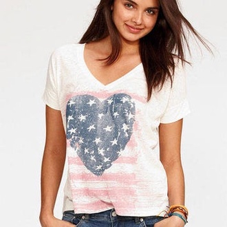 top american flag t-shirt