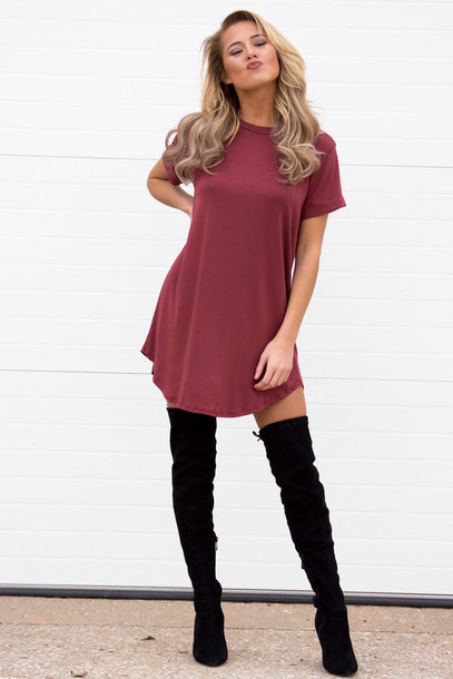 Dress cute dress cute t-shirt t-shirt dress spring ...