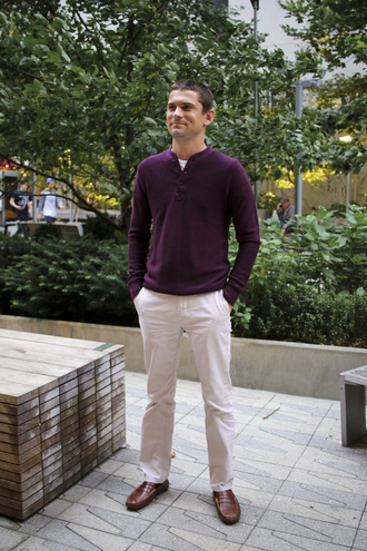 theviewfrom5'2 blogger sweater pants shoes jeans menswear loafers mens pants mens sweater