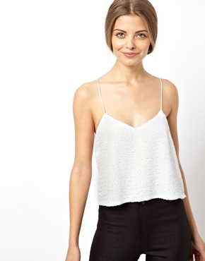 ASOS | ASOS Cami in All Over Sequins at ASOS